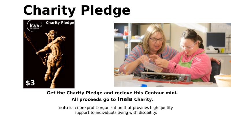Charity Pledge Background